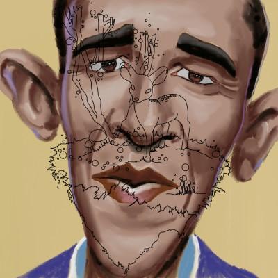 Obama | J-O-C | Digital Drawing | PENUP