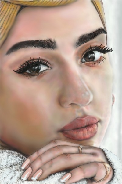 FRENCH MANICURE ◇◇ Zara.Ahmed   Rich   Digital Drawing   PENUP