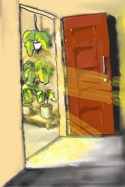 my house door | jokijo | Digital Drawing | PENUP