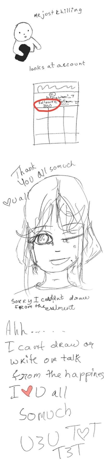 THANK YOU  | himawari_7 | Digital Drawing | PENUP