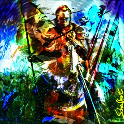 Knight ART | Juergen | Digital Drawing | PENUP