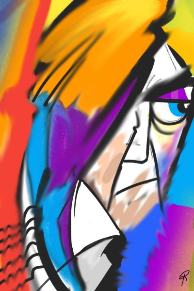 Abstract | Zany.Brain | Digital Drawing | PENUP