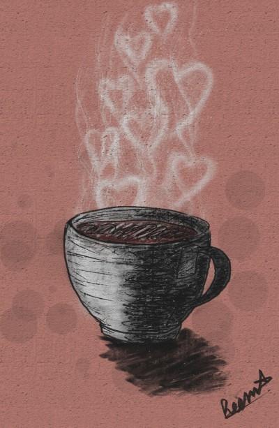 Coffee addiction  | Reema21 | Digital Drawing | PENUP