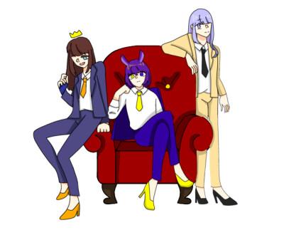 Character Digital Drawing | BIN | PENUP