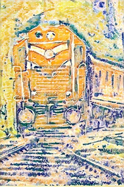 train journey 3 | zen | Digital Drawing | PENUP