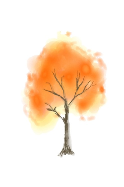 A tree | Abhi | Digital Drawing | PENUP