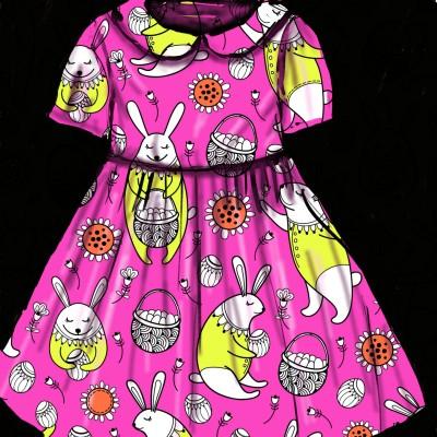 Girls Dress   jenart   Digital Drawing   PENUP