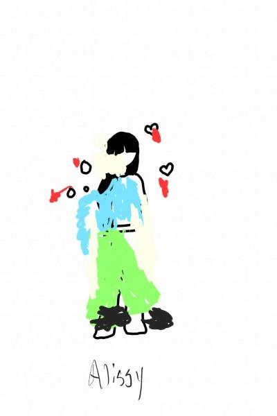 collab w/Alissy | Rhonda | Digital Drawing | PENUP