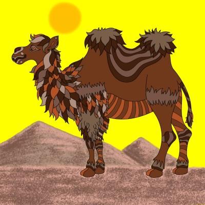 Desert Ship | Bekkie | Digital Drawing | PENUP