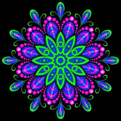 Blacklight Art   Bekkie   Digital Drawing   PENUP