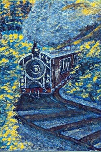 train journey 4 | zen | Digital Drawing | PENUP