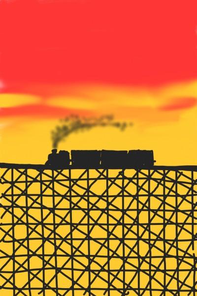 기차    Odree   Digital Drawing   PENUP
