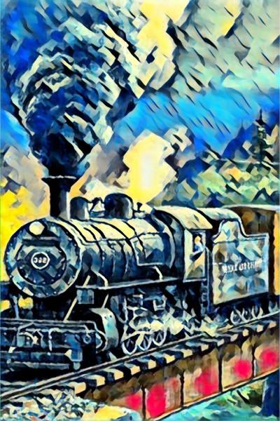 train journey speed   zen   Digital Drawing   PENUP