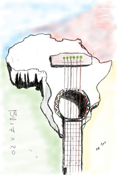 AFRICAN SPIRIT    AllBRAN   Digital Drawing   PENUP
