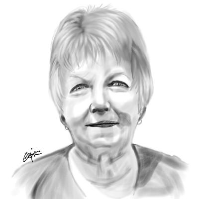 Portrait sketch for Mika | opit | Digital Drawing | PENUP