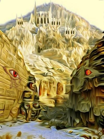 Abandoned castle. | Denis | Digital Drawing | PENUP