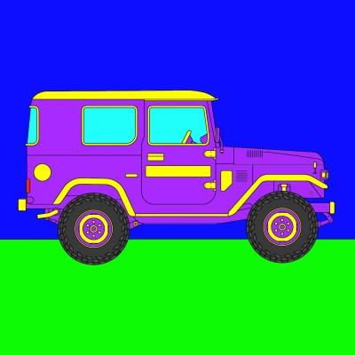 Pimp My Jeep   cptpebkac   Digital Drawing   PENUP