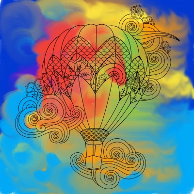 colors of life | canvas | Digital Drawing | PENUP