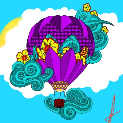 air | Ihtik | Digital Drawing | PENUP