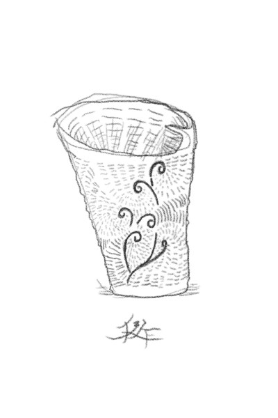 陶器?(chinaware?)想像(image)01 | kennsaku | Digital Drawing | PENUP