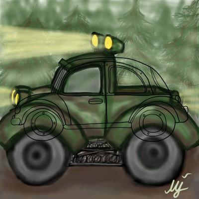 OFF-ROAD CAR | mjalkan | Digital Drawing | PENUP