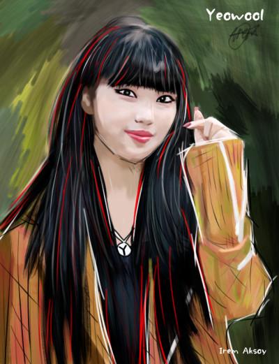 Yeowool ❤️ PURPLEBECK    Irem   Digital Drawing   PENUP