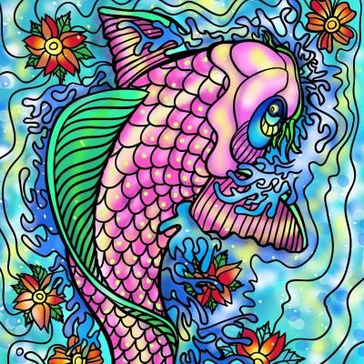 Beautiful Fish ♡  | Sylvia | Digital Drawing | PENUP