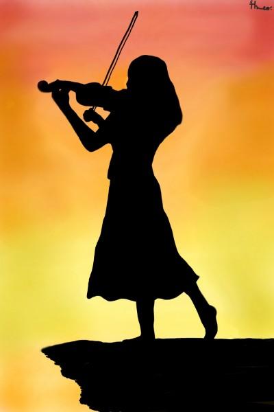 Violin | Tahlia.H | Digital Drawing | PENUP