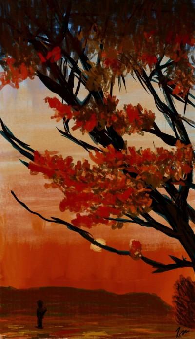 autumn sunset   cavaca   Digital Drawing   PENUP