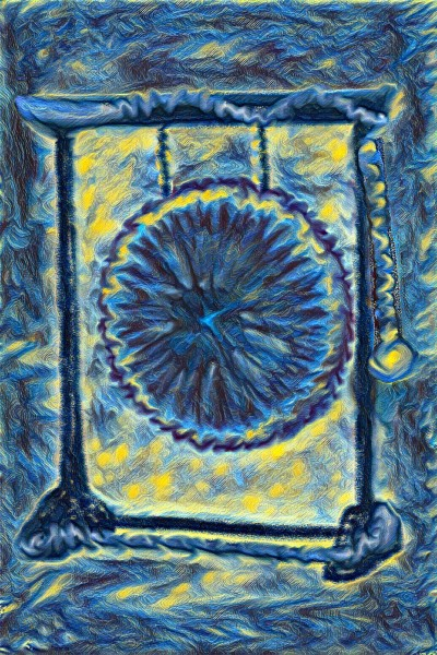 Starry Night Gong  | stargirl3233 | Digital Drawing | PENUP