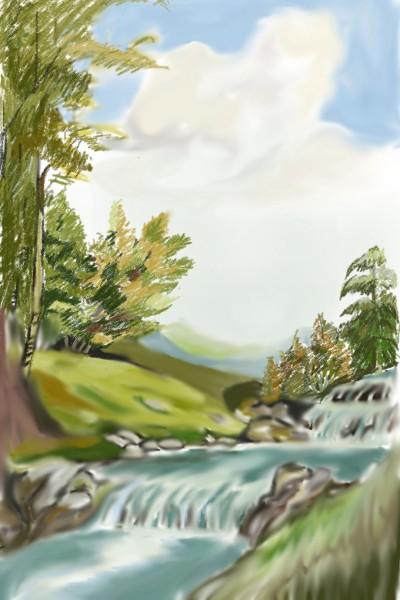 dream of river   atena   Digital Drawing   PENUP