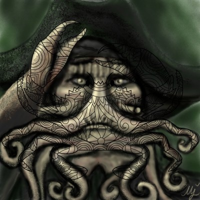 Davy Jones - Pirates of the Caribbean | mjalkan | Digital Drawing | PENUP