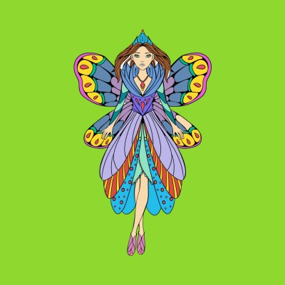 Coloring Digital Drawing | Crys | PENUP
