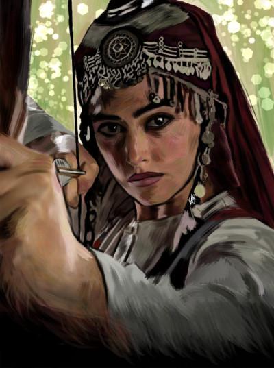 Diriliş Ertuğrul ⭐❤️ | IREM.Aksoy | Digital Drawing | PENUP