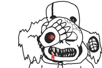 don't hide... I'm a normal skeleton  | _G_ | Digital Drawing | PENUP