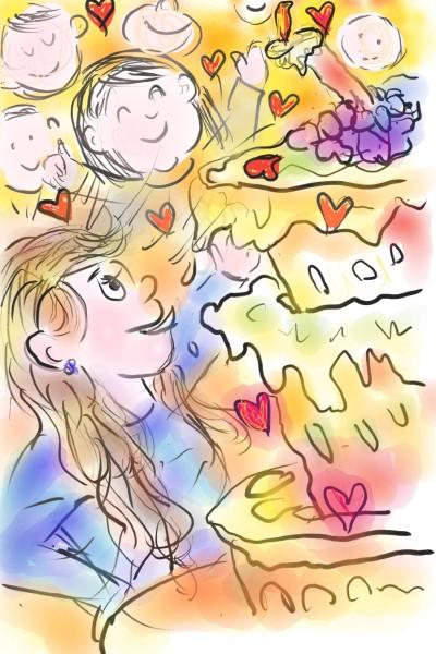 My dearest daughter  | mon | Digital Drawing | PENUP