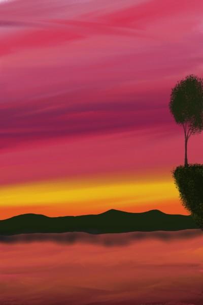 Landscape Digital Drawing   grgm   PENUP