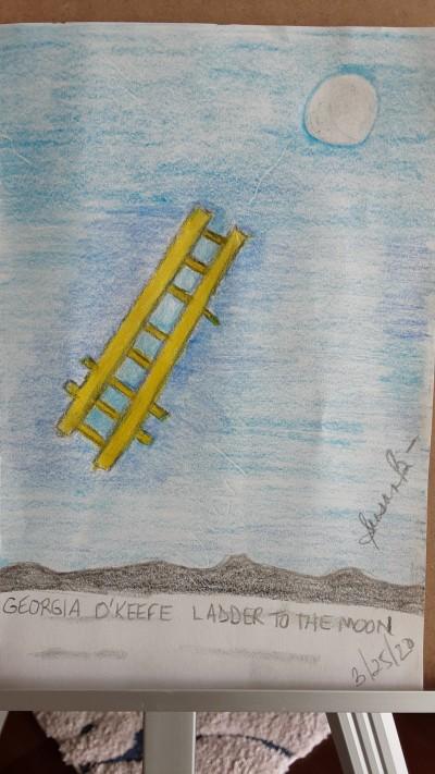 Ladder to the Moon | jbsb1985 | Digital Drawing | PENUP