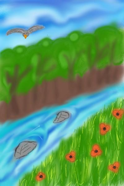 Poppy valley | Sarlotje | Digital Drawing | PENUP