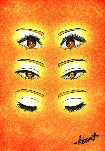 I can see the fire In your eyes  | Reema21 | Digital Drawing | PENUP
