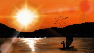 Nile River ♡ | Mariam | Digital Drawing | PENUP