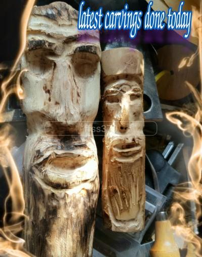 My Wood Sculptures  | FFss379 | Digital Drawing | PENUP