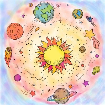 lost in my universe  | avi | Digital Drawing | PENUP