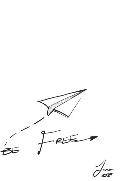 Be Free  | HubertDesign | Digital Drawing | PENUP
