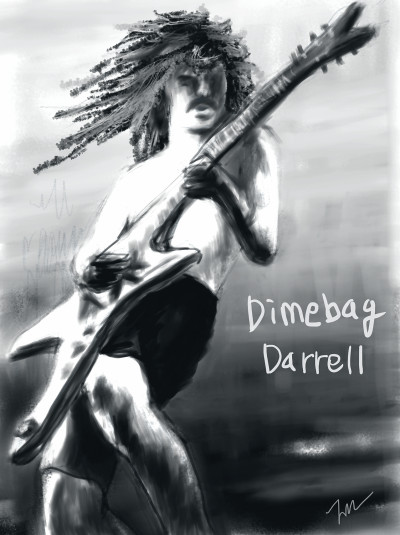 Dimebag Darrell   cavaca   Digital Drawing   PENUP