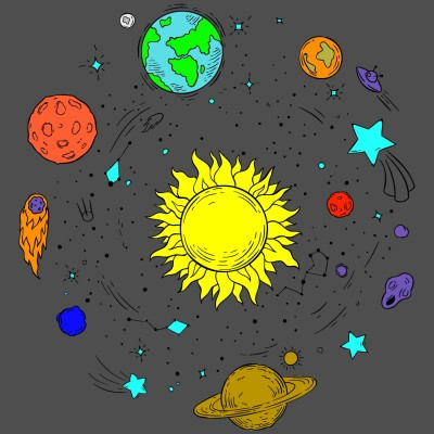 Solar system... | Alexs | Digital Drawing | PENUP