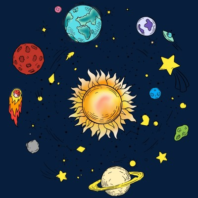 the planets oooo | excited_dashie. | Digital Drawing | PENUP