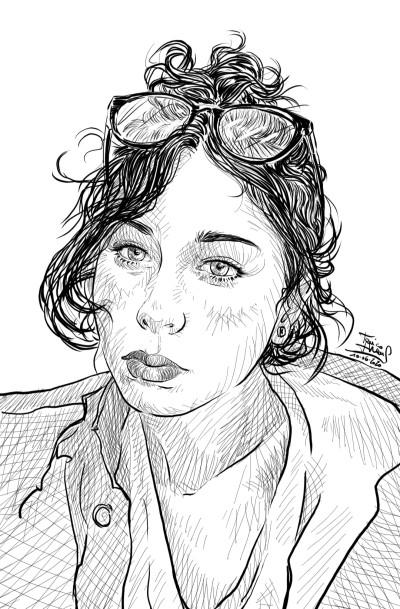 Chiara  | jericojhones | Digital Drawing | PENUP