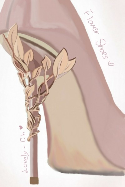 Flower Shoes* | Lovely-Ch | Digital Drawing | PENUP