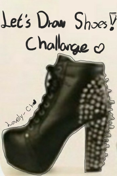 Black shoes☆ | Lovely-Ch | Digital Drawing | PENUP